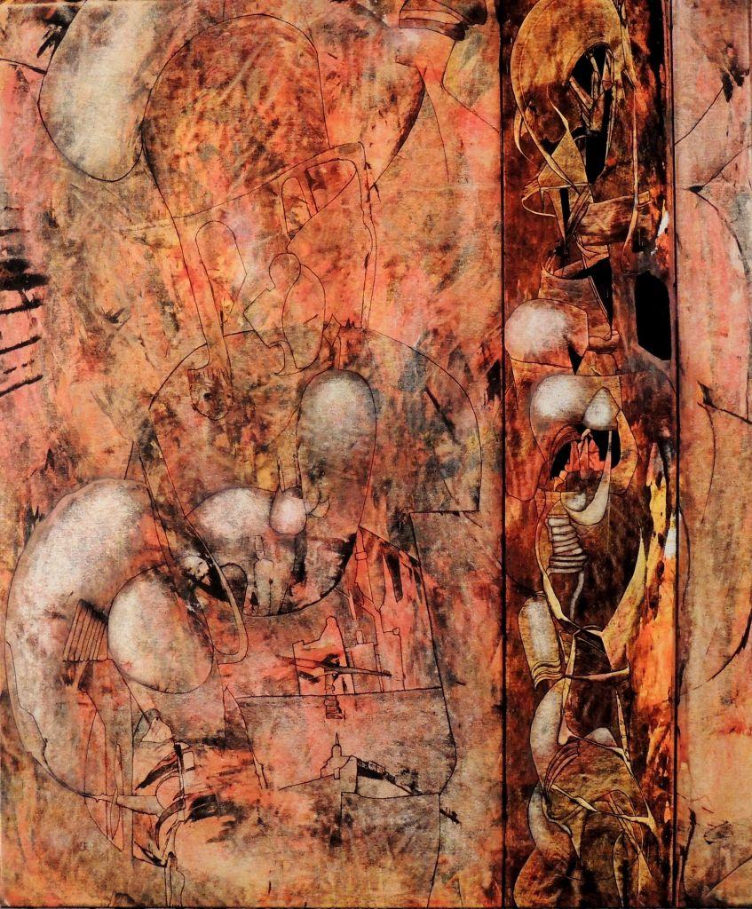 quartier des apaches 2 jean claude savi peinture
