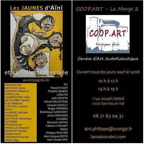 exposition coopart aini 2017jean claude savi peinture