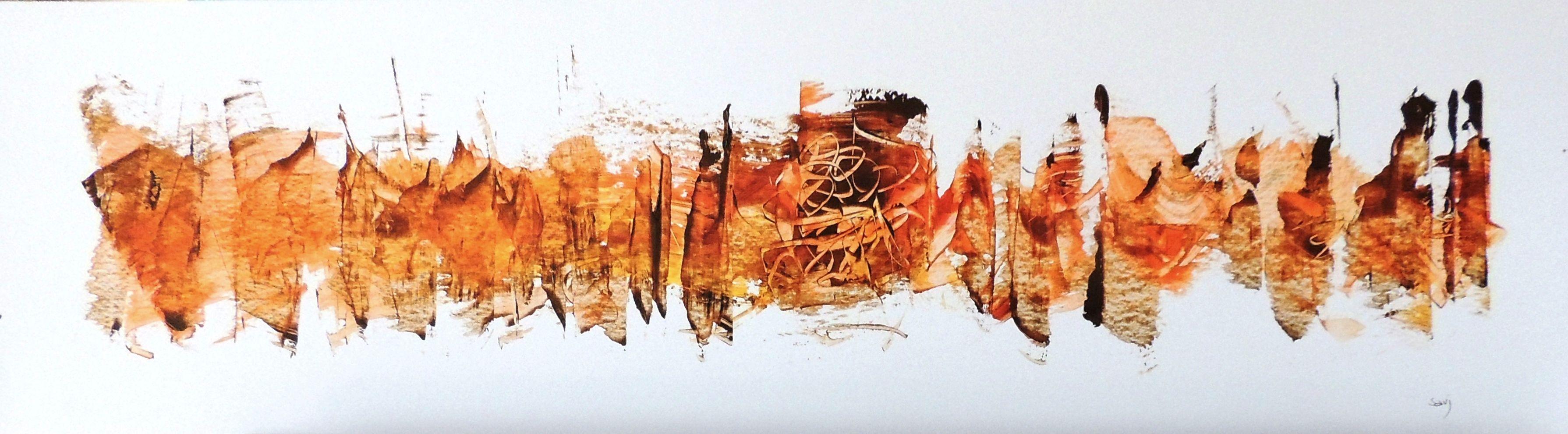 jean claude savi peinture acrylique sur papier 2