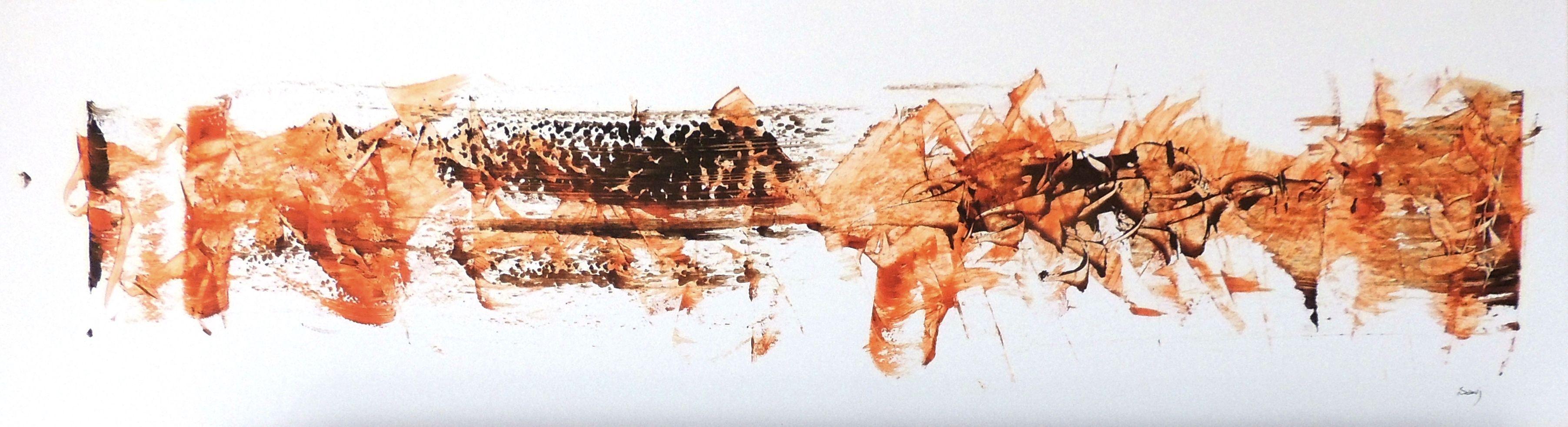 jean claude savi peinture acrylique sur papier 1