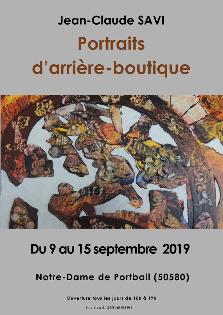 exposition portbail jean claude savi 2019