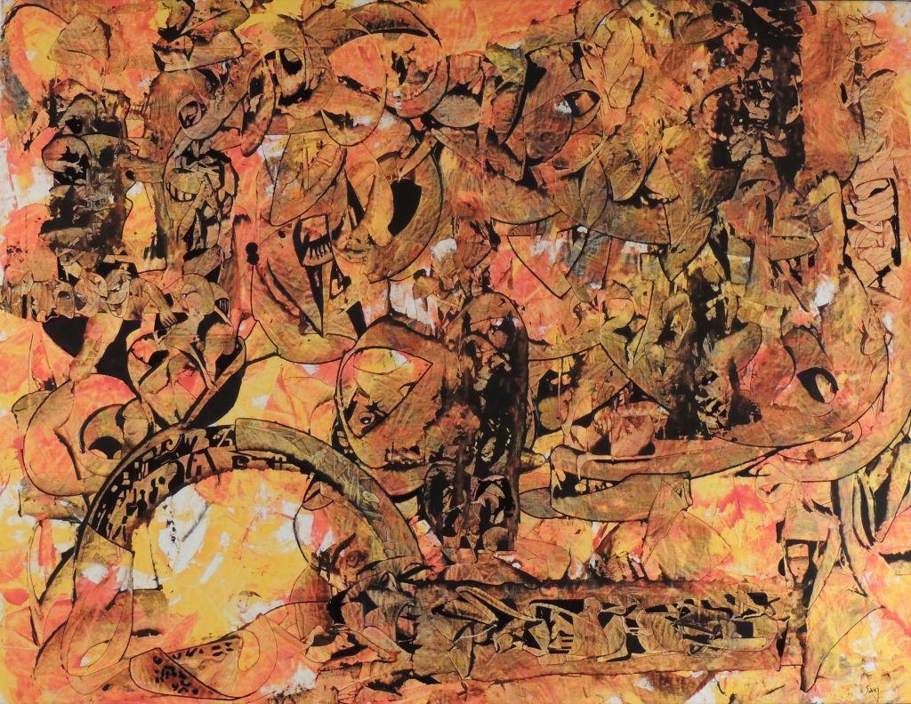 le-premier-voyage-en-crocodile-savi-peinture